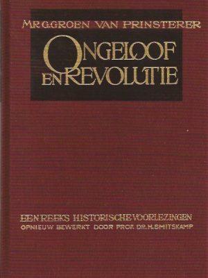 Ongeloof en revolutie-G. Groen van Prinsterer-9061350417-9789061350415