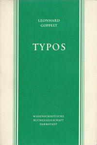 Typos-Die typologische Deutung des Alten Testaments im Neuen-Leonhard Goppelt-3534052730