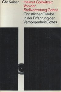 Von der Stellvertretung Gottes-Helmut Gollwitzer-Kaiser, 1967