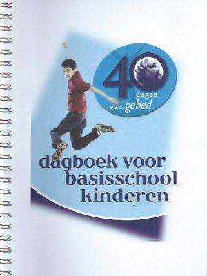 40 dagen van gebed-dagboek voor basisschool kinderen-PDNetwerk
