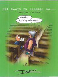 Dat hoort nu eenmaal zo-kerkmensen in cartoons-Dokus