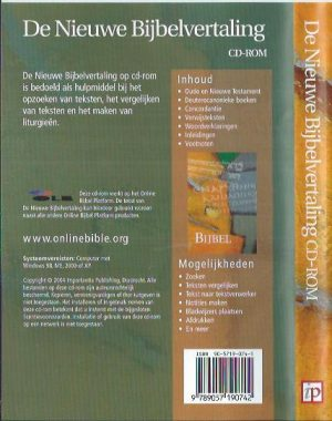 De Nieuwe Bijbelvertaling CD-Rom-9789057190742_B