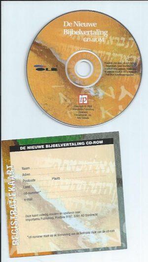 De Nieuwe Bijbelvertaling CD-Rom-9789057190742_CDrom