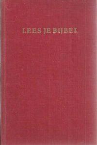 Lees je Bijbel-A. Halm-19e druk rood