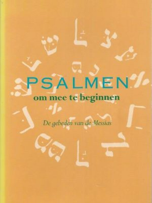 Psalmen om mee te beginnen-P.A. Elderenbosch-9023902718