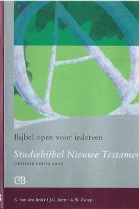 Studiebijbel Nieuwe Testament-Digitale Editie 2005-9077651020