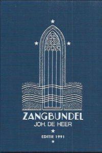 Zangbundel Joh. De Heer, Editie 1991-Tekstboek-9074069029