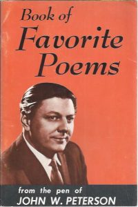 Book of favorite poems-from the pen of John W. Peterson