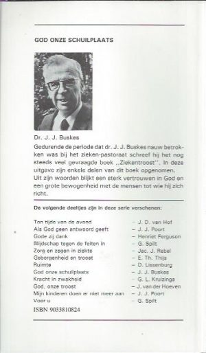 God onze schuilplaats, een ziekengroet-J.J. Buskes-9033810824_B