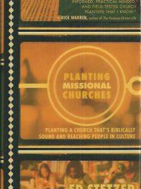 Planting missional churches-Ed Stetzer-9780805443707