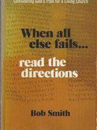 When all else fails-Robert W. Smith-0876809859