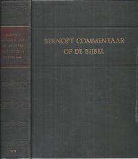 Beknopt commentaar op de bijbel in de nieuwe vertaling-Kok 1963