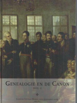 Genealogie en de Canon Deel II-Jaarboek van het Centraal Bureau voor Genealogie, 63