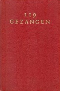 Honderdnegentien gezangen in gebruik bij de Gereformeerde Kerken in Nederland-rood leer 1964