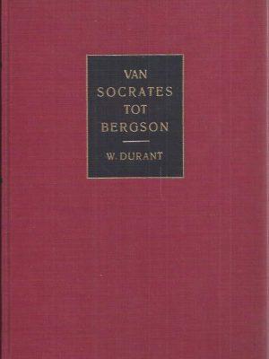 Van Socrates tot Bergson-Will Durant-13e druk_Boek