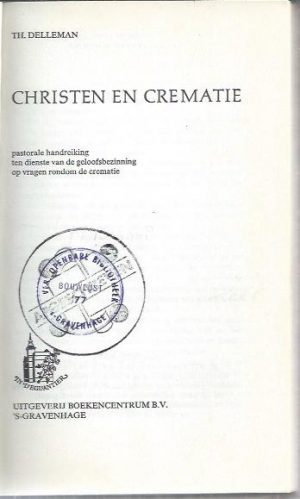 Christen en crematie-Th. Delleman-9023901983_P