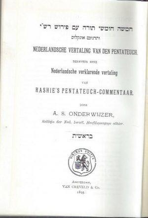 Nederlandsche vertaling van den Pentateuch_P