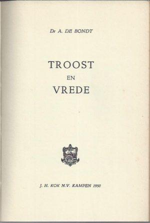Troost en Vrede-A. de Bondt_P