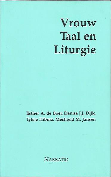 Vrouw taal en liturgie-9052630682-9789052630687