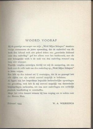 Waak over Mijn huis-W.A. Wiersinga_Woord vooraf
