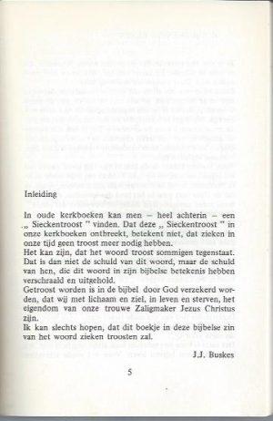 Ziekentroost-Ds. J.J. Buskes_Inleiding