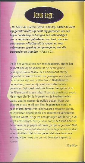 Incest, een familiegeheim -Else Vlug_Tekst