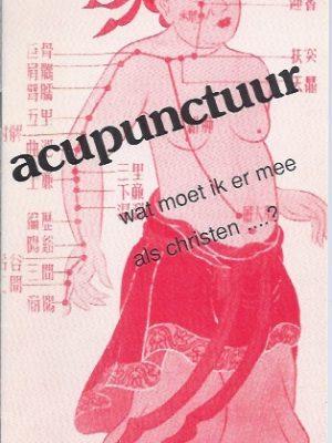 Acupunctuur, wat moet ik er mee als christen-J.I. van Baaren-90
