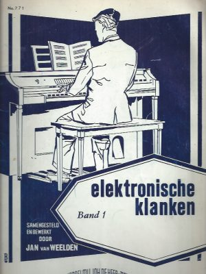 Elektronische klanken Band 1-No. 771-Jan van Weelden