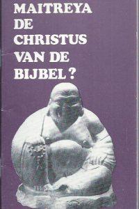 Is Maitreya de Christus van de Bijbel-907000576X