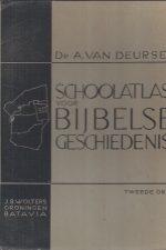 Schoolatlas voor bijbelse geschiedenis-A. van Deursen-2e druk 1940
