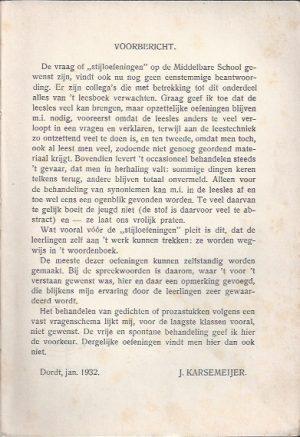 Verstaan en toepassen 1e deel-Dr. J. Karsemeijer-8e druk_Voorbe