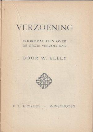 Verzoening-Voordrachten over de Grote Verzoendag-W. Kelly_P