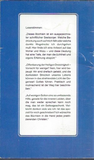 Wege durch die Nacht zur Heiligen Dreieinigkeit-M. Basilea Schlink-3872092413_B