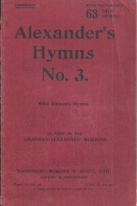 Alexander's hymns, No. 3, with supplement