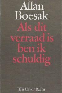 Als dit verraad is ben ik schuldig-Allan Boesak-9025943195