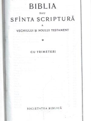 Biblia, sau, Sfînta Scriptura, a Vechiului si Noului Testament, cu trimeteri(2002)_P