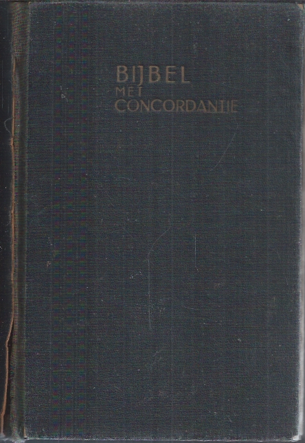 Bijbel met concordantie-De Nederlandsche Bijbel Compagnie-18..-OT742-NT256-C105-W52 blz