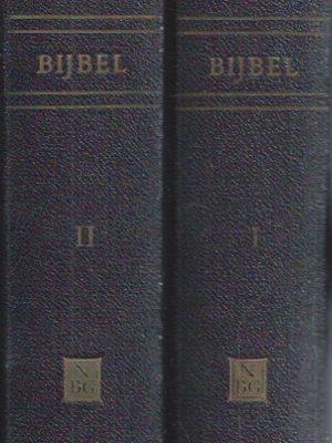 Bijbel, nieuwe vertaling in opdracht van het Nederlandsch Bijbelgenootschap-2 delen 1957