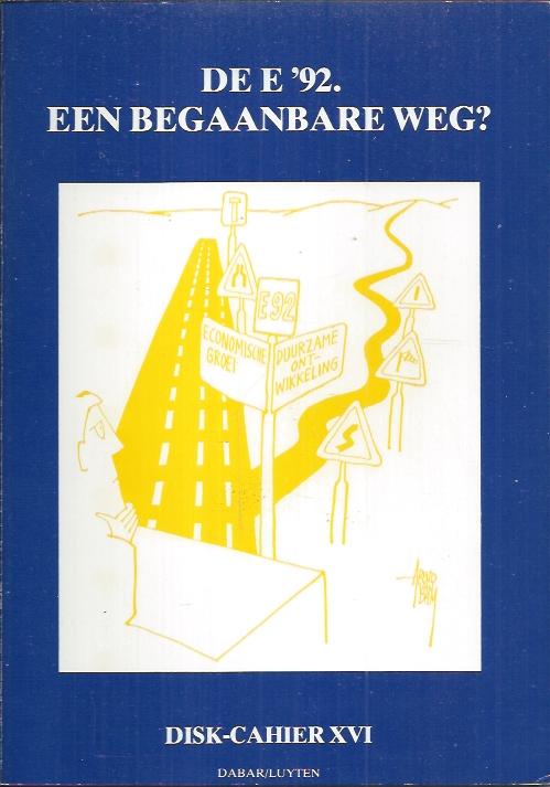 De E'92, een begaanbare weg-9064162115-DISK-cahier 16