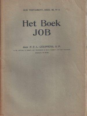 Het Boek JOB-P. Haghebaert-nieuwe uitgaaf-P.F.L. Ceuppens