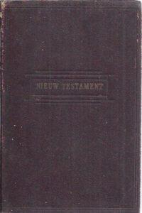 Het Nieuwe Testament-NBG 1933 zakboekje roodbruin leer