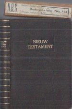 Het Nieuwe Testament-NBG 1940-Donkerbruin leder No.713