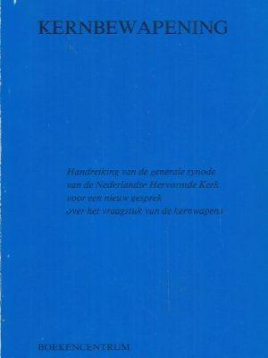 Kernbewapening-Generale synode van de Nederlandse Hervormde Kerk-9023925386