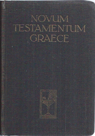 Novum Testamentum Graece-Eberhard Nestle-Erwin Nestle-1950