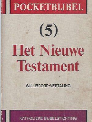 Pocketbijbel 5, Het Nieuwe Testament-Willibrord-vertaling-9061732719