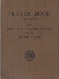 Prayer Book abridged for Jews in the Armed Forces of the United States-3th rev.ed.1943