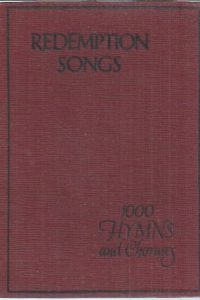 Redemption songs, 1000 hymns and choruses-Pickering & Inglis