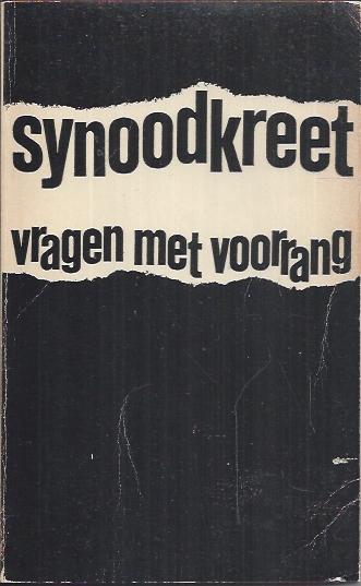 Synoodkreet, vragen met voorrang-Anthosboek