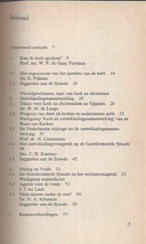 Synoodkreet, vragen met voorrang-Anthosboek_Inhoud