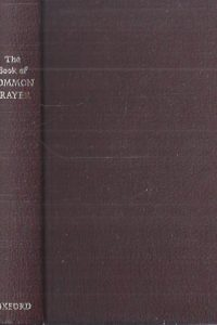 The Book of Common Prayer-Church of England-Oxford 1986